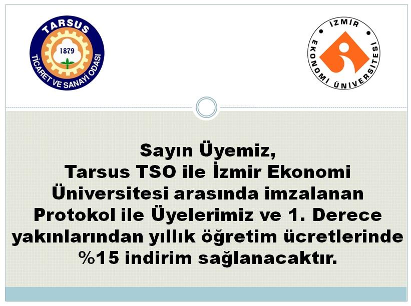 Tarsus Ticaret Ve Sanayi Odasi Ile Izmir Ekonomi Universitesi Arasinda Imzalanan Protokol 𝐓𝐚𝐫𝐬𝐮𝐬 𝐓𝐒𝐎 Tarsus Ticaret Ve Sanayi Odasi